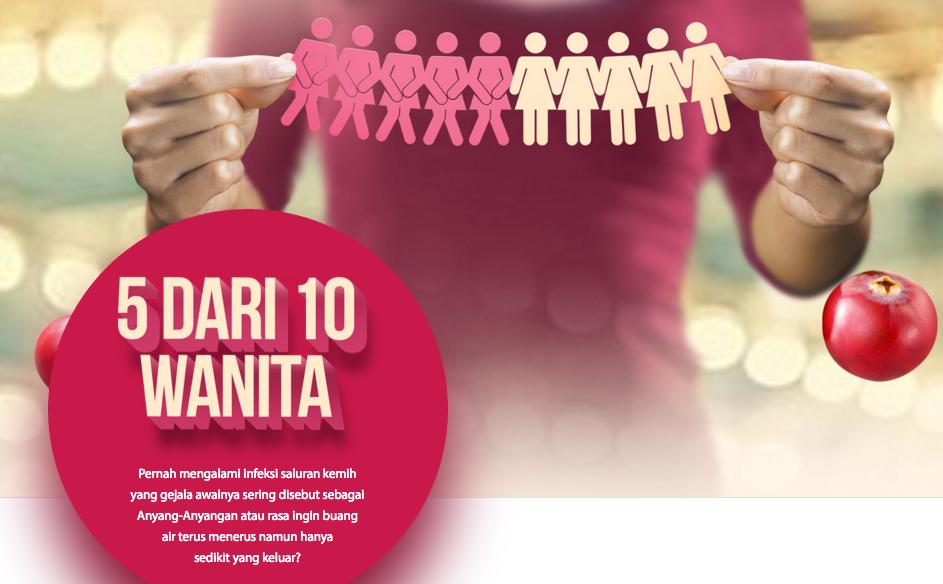 5 Dari 10 Wanita Beresiko Terkena Anyang-anyangan